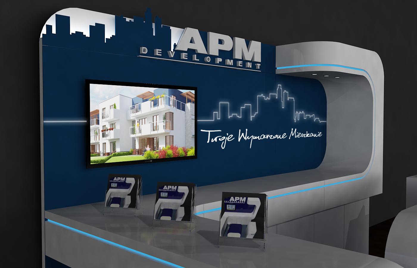 stoisko targowe apm development 10